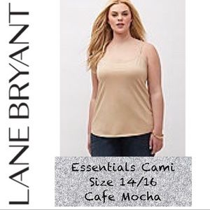 Like New! Lane Bryant Essential Cami